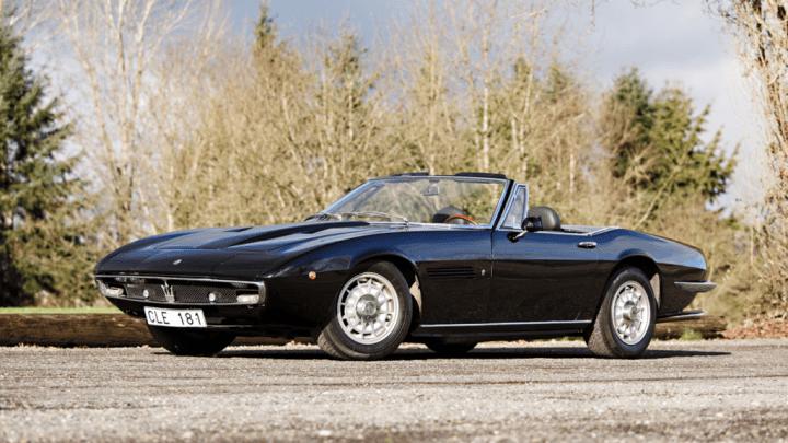 1972 Maserati Ghibli 4.9 SS Spider 753.000$