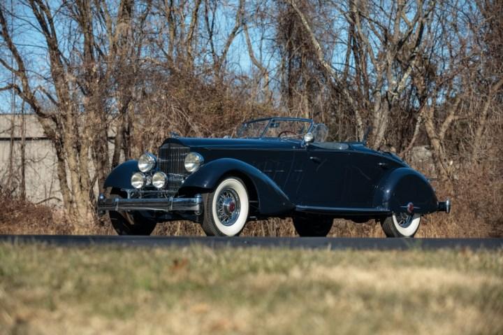 1934 Packard Twelve Individual Custom Sport Phaeton in the style of LeBaron