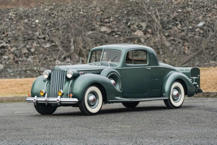 1939 Packard Twelve 2 Passenger Coupe