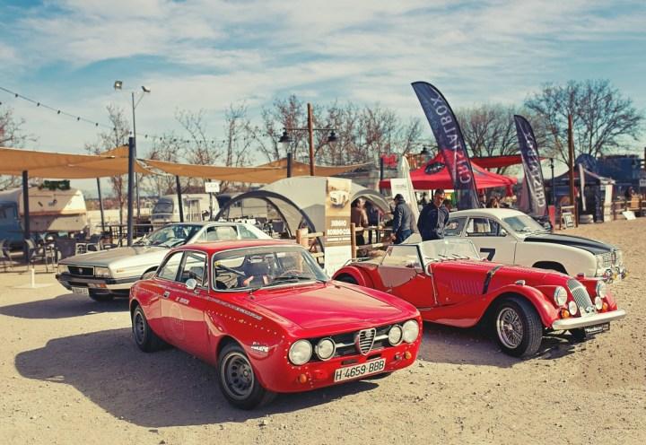 El futuro de los coches clásicos: concentración de clásicos