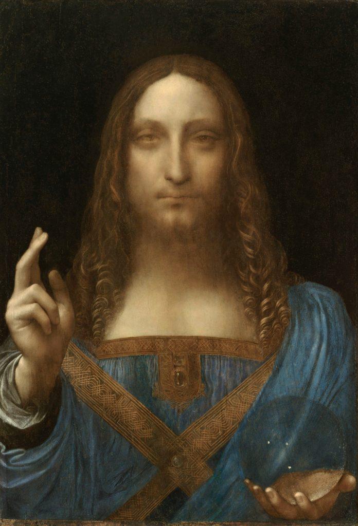 """""""Salvator Mundi"""" de Leonardo da Vinci (1500 aprox.) vendido por Christie's en New York el 15.11.2017 por 450,3 M$ (469.7 M$)"""