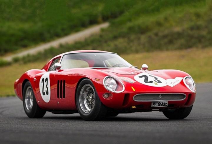 Ferrari 250 GTO #3413GT (1962) vendido por RM Sotheby's en Monterey el 26.8.2018 por 48,4 M$ (49,7 M$)
