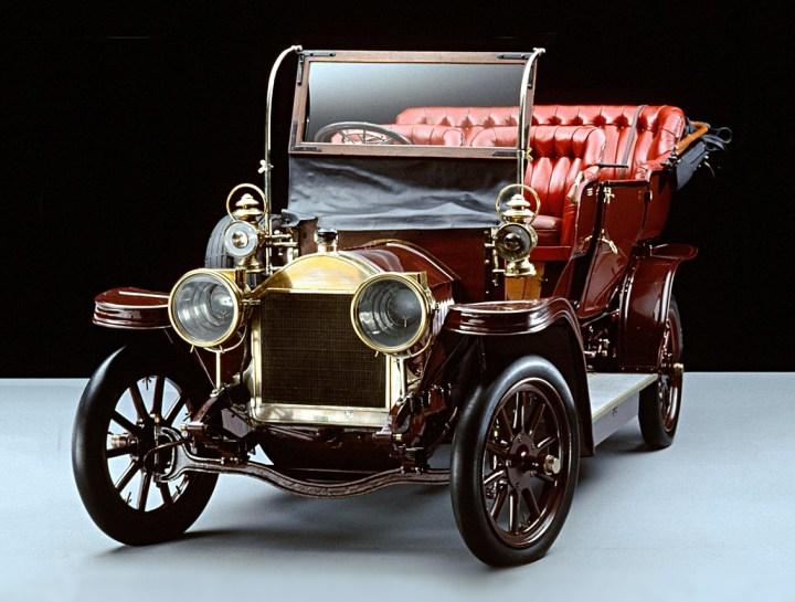 """Fiat 12/18 HP """"Parsifal"""" de 1902"""
