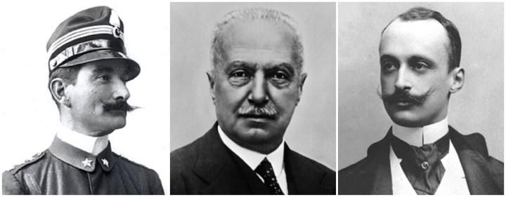 Federigo Caprilli, Giovanni Agnelli y Emanuele di Bricherasio