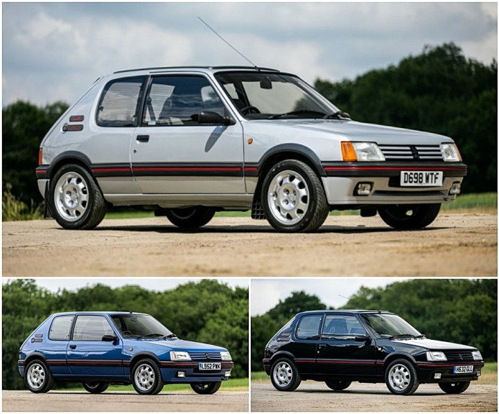 Peugeot 205 1.9 GTI | Silverstone Auctions
