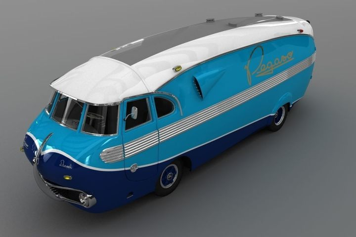 Pegaso Bacalao, modelo en 3D | CGTrader