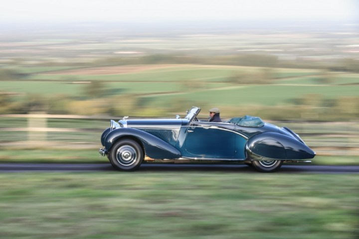 20200905 Gooding Passion of a Lifetime 1939 Bentley 4 1:4 Litre Cabriolet 517.500 libras est 450-600