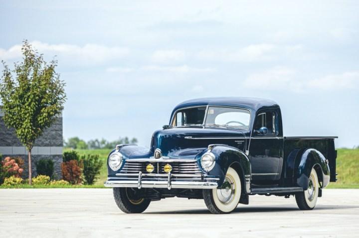 Subastas Otoño 2020 (2) RM Sotheby's Elkhart 1946 Hudson Super Six Pickup 67.200 $