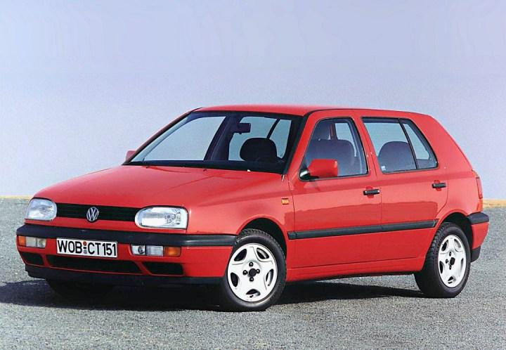 Coches con 30 años en 2021: Volkswagen Golf III