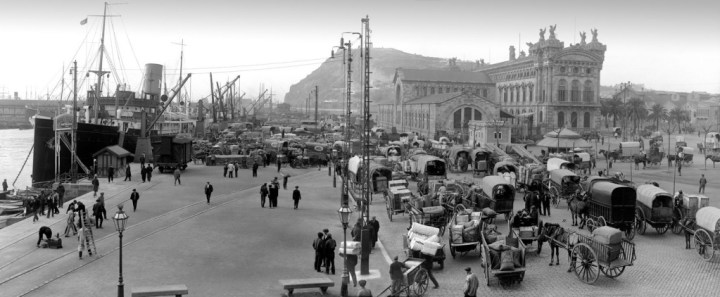 Coches y caballos: Barcelona en los años 90 del siglo XIX
