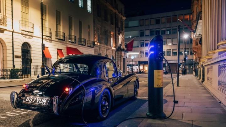 Clásicos eléctricos: Lunaz Jaguar XK120