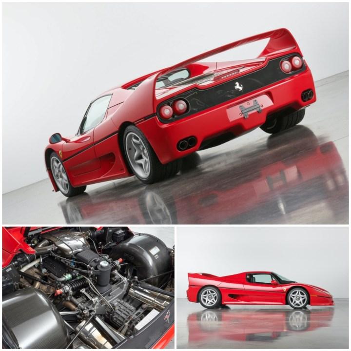 Amelia Island 2021: Ferrari F50 (1995) | RM Sotheby's