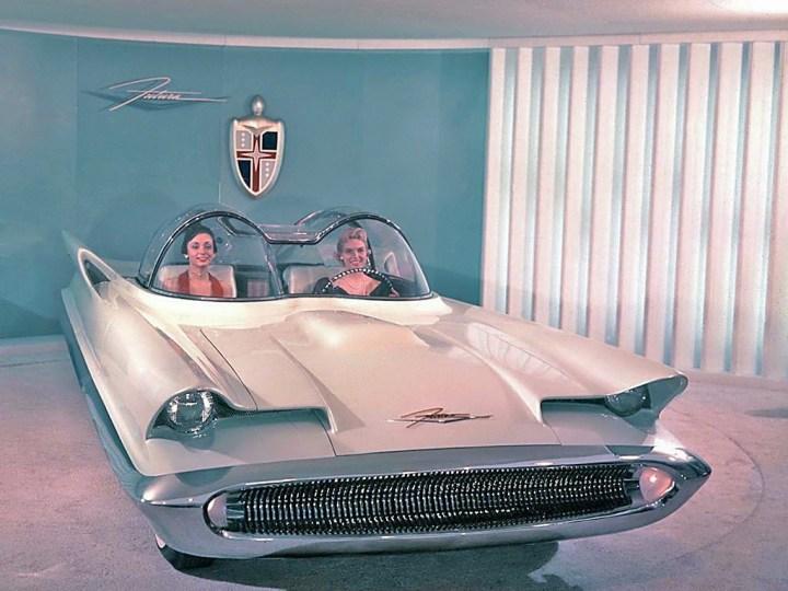 Concept cars: 1955 Lincoln Futura