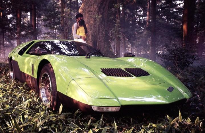 Concept cars: 1970 Mazda RX 500