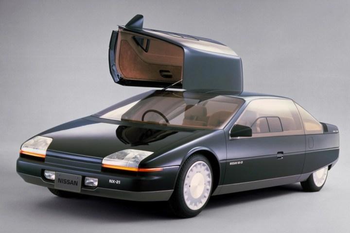 Concept cars: 1983 Nissan NX-21