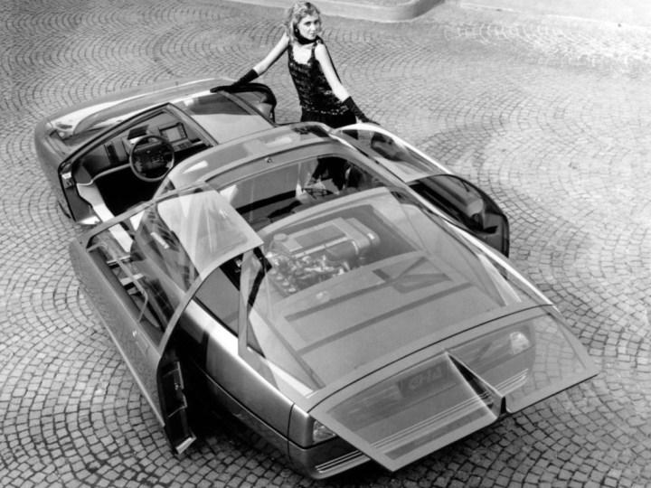 Concept cars: 1985 Ford Probe V
