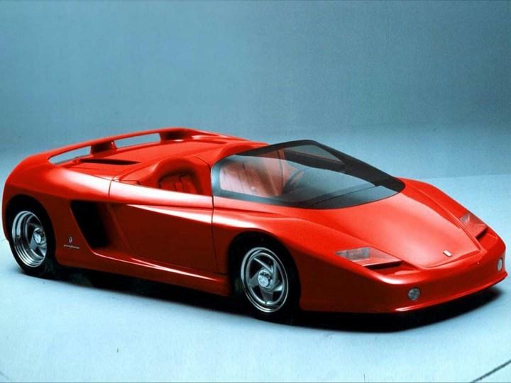 Concept cars: 1989 Ferrari Mythos
