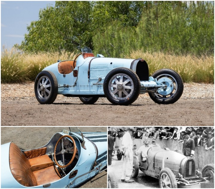 Subastas monterey 2021: Bugatti Type 35B Grand Prix de 1929 | Gooding