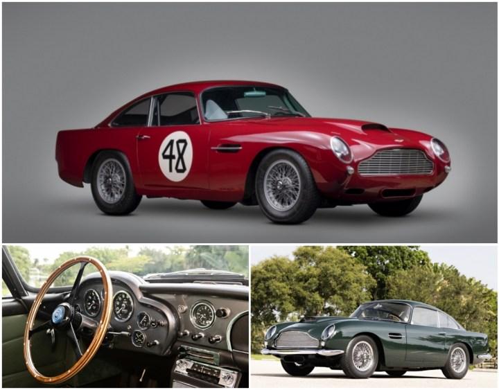 Aston Martin DB4GT Lightweight de 1959 y DB4GT de 1961 | RM Sotheby's / Gooding