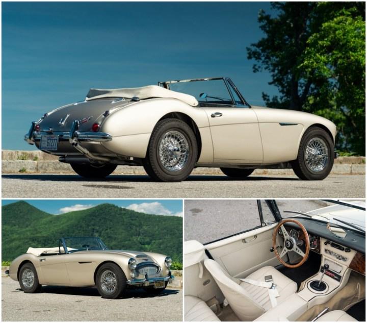 1965 Austin-Healey 3000 est 100-120.000 $ 190.400 $   Gooding