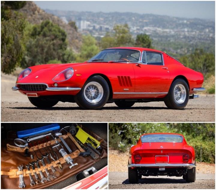 1967 Ferrari 275 est 2,75-3,5 M$ 3.662.500 $   Gooding
