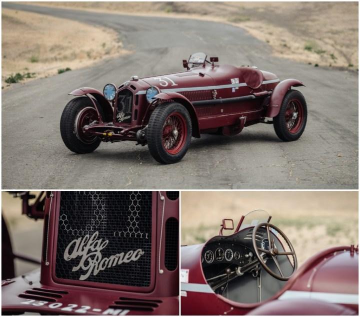 Subastas Monterey 2021: 1932 Alfa Romeo 8C 2300 Monza est 2,5-3,2 M$ 1,16 M$   RM Sotheby's