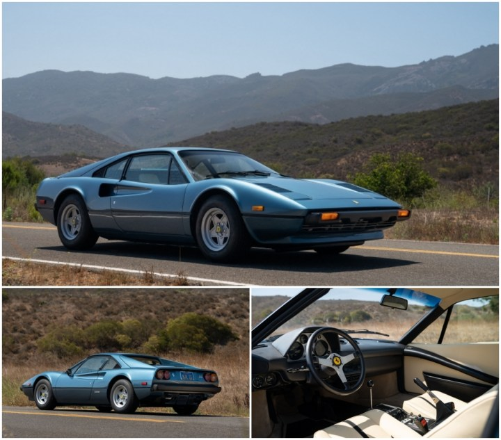 Subastas Monterey 2021: 1977 Ferrari 308 GTB est 120-150.000 $ 145.600 $   RM Sotheby's