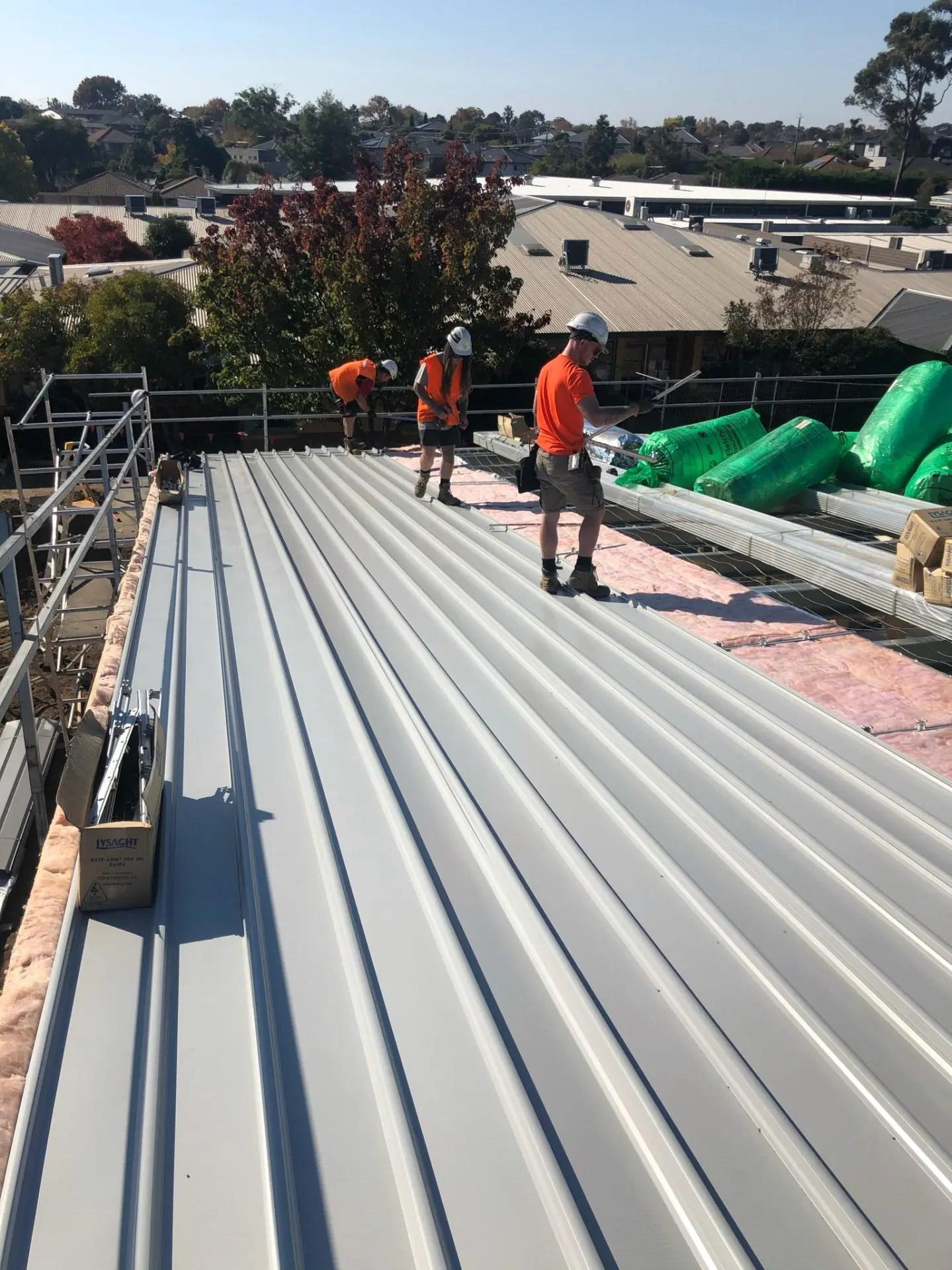 Bentleigh Primary School Metal Roofing