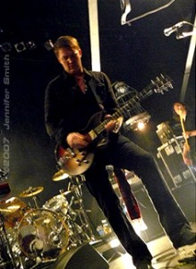 Josh Homme of Queens of The Stoneage