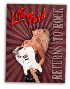 Lita Ford: Returns To Rock