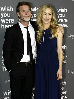 Kieran Darcy-Smith and Felicity Price at the film's premiere.