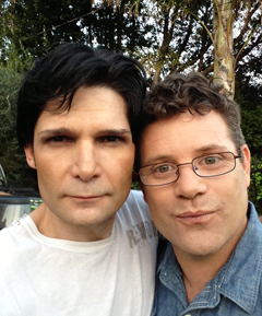 Corey and Sean Astin Reunited