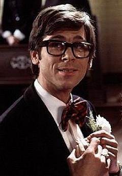 Barry as Brad Majors