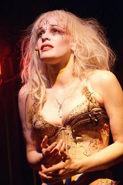 Emilie Autumn on stage.