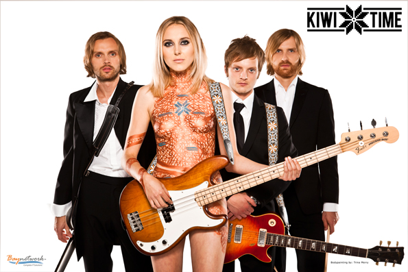 Kiwitime Band Sponsored by Baynetwork