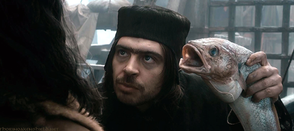 Ryan Gage as Alfrid in 'The Hobbit: The Desolation of Smaug'