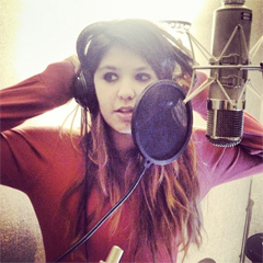 Carmel Buckingham In The Studio