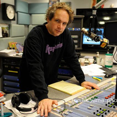 Eddie Trunk in studio.