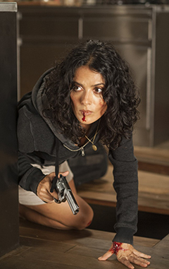 Salma Hayek in 'Everly'