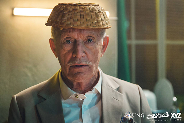 Lance Henriksen as Mayor Caruthers in Benni Diez's 'Stung'