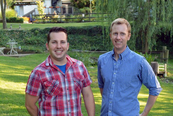 Steve Konopelski and Rob Griffith, Owners of Turnbridge Point in Denton, MD