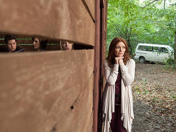 "Brigid Brannagh as Becky Westlake in ""They're Watching"""