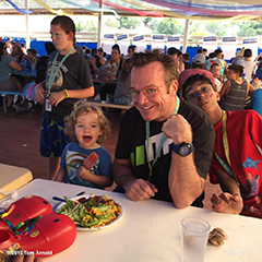 Tom Arnold and friends at Camp Del Corazon