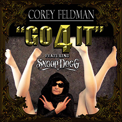 "Corey Feldman's single, ""Go 4 It,"" is available now on iTunes!"