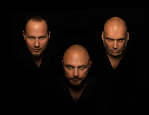 TRINITY: Tim Ripper Owens, Geoff Tate and Blaze Bayley.