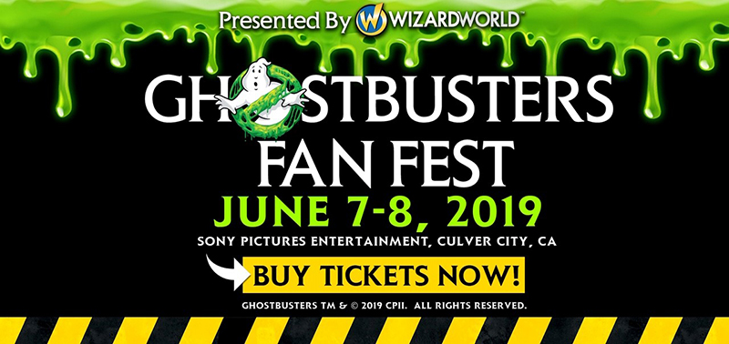 Ghostbusters Fan Fest 2019