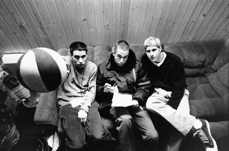 Beastie Boys in studio