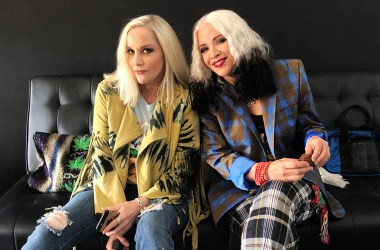 Cherie Currie and Brie Darling - Photo by Corey Parks
