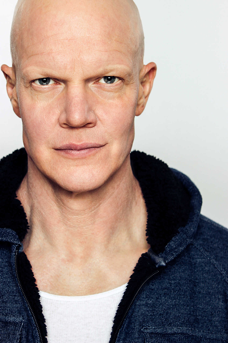 Up close and personal with Derek Mears. - Photo by Brezinski Photography