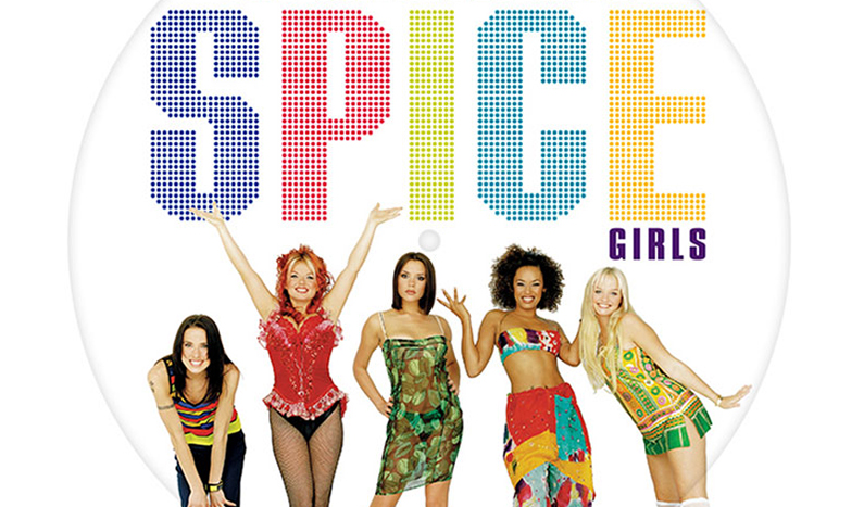 Spice Girls Greatest Hits on vinyl